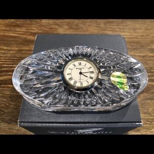 Waterford Small Oval Clock Crystal Ireland…